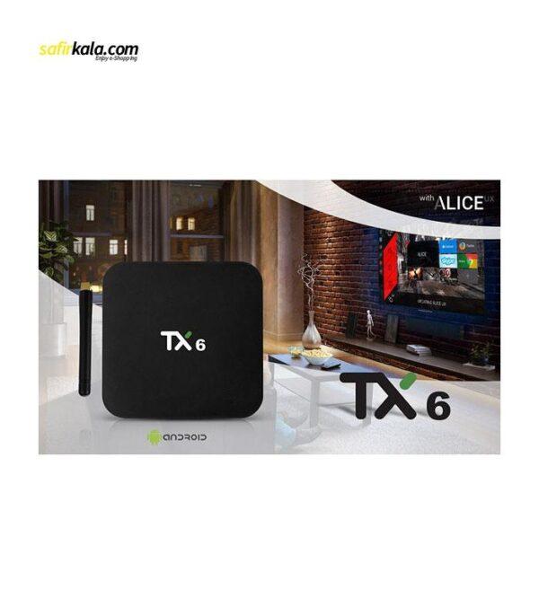 اندروید باکس مدل TX6 Dual WIFI 4/32 | سفیرکالا