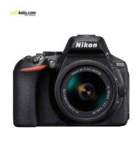 دوربین دیجیتال نیکون مدل D5600 به همراه لنز 18-55 میلی متر VR AF-P | سفیر کالا