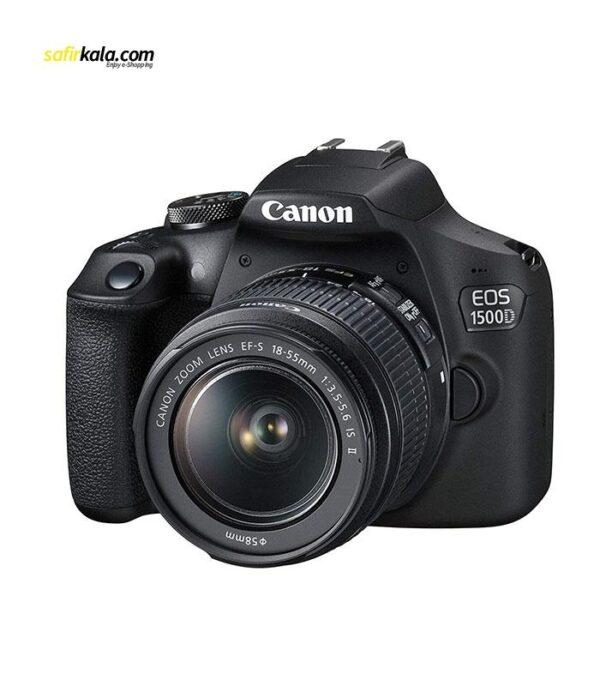 دوربین دیجیتال کانن مدل EOS 1500D به همراه لنز 18-55 میلی متر IS II | سفیر کالا