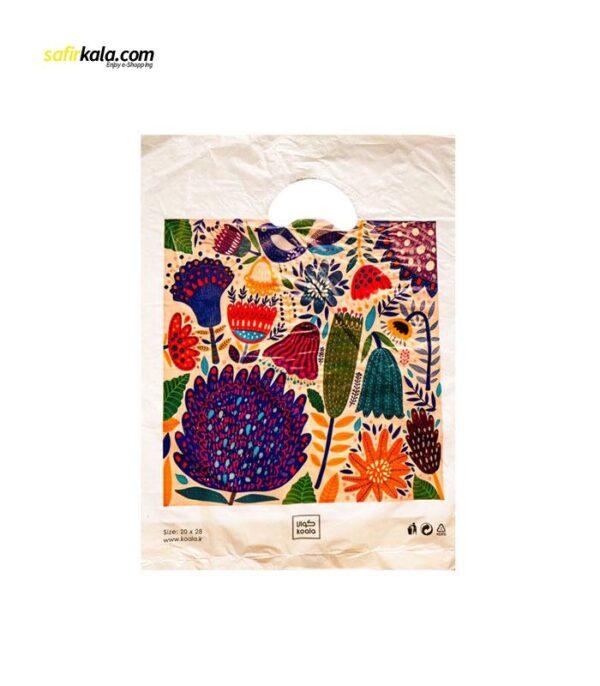 کیسه خرید کوالا مدل 3421101 بسته 100 عددی | سفیرکالا