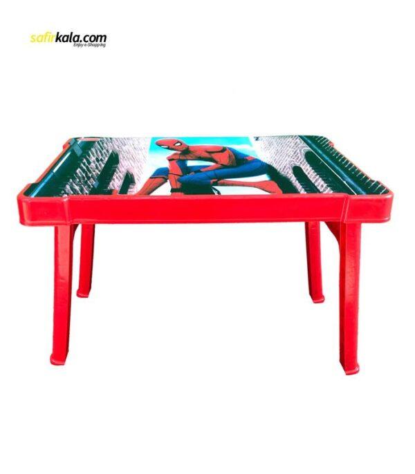 میز کودک مدل 0404 طرح مرد عنکبوتی | سفیرکالا