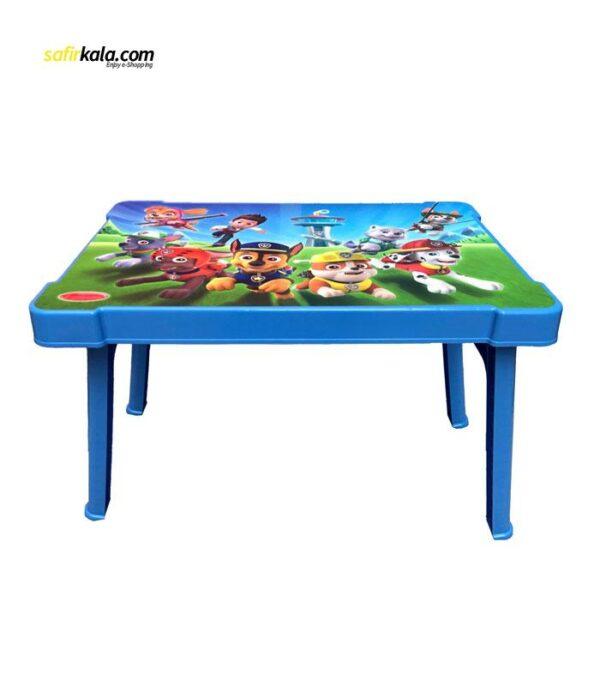 میز کودک طرح سگ نگهبان مدل 0403 | سفیرکالا