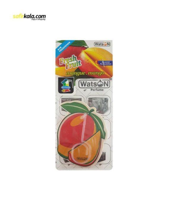 خوشبو کننده خودرو واتسون مدل Card-Mango | سفیرکالا