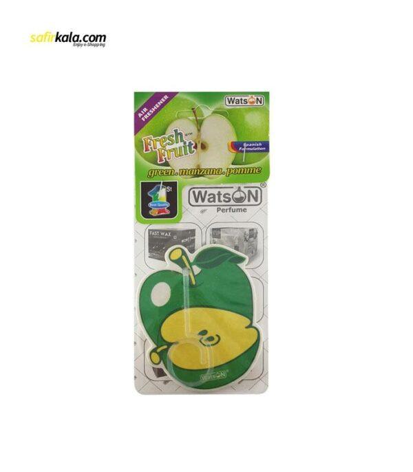 خوشبو کننده خودرو واتسون مدل Card-GreenApple   سفیرکالا