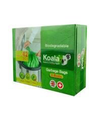 کیسه زباله کوالا مدل Biodegradable سایز متوسط بسته 42 عددی | سفیرکالا