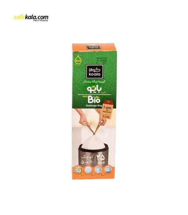 کیسه زباله کوالا مدل bbn بسته 25 عددی | سفیرکالا