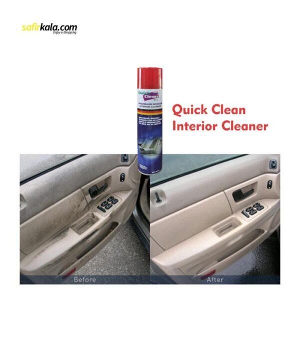 اسپری تمیز کننده خودرو کوئیک کلین مدل 26743 حجم 650 میلی لیتر | سفیرکالا