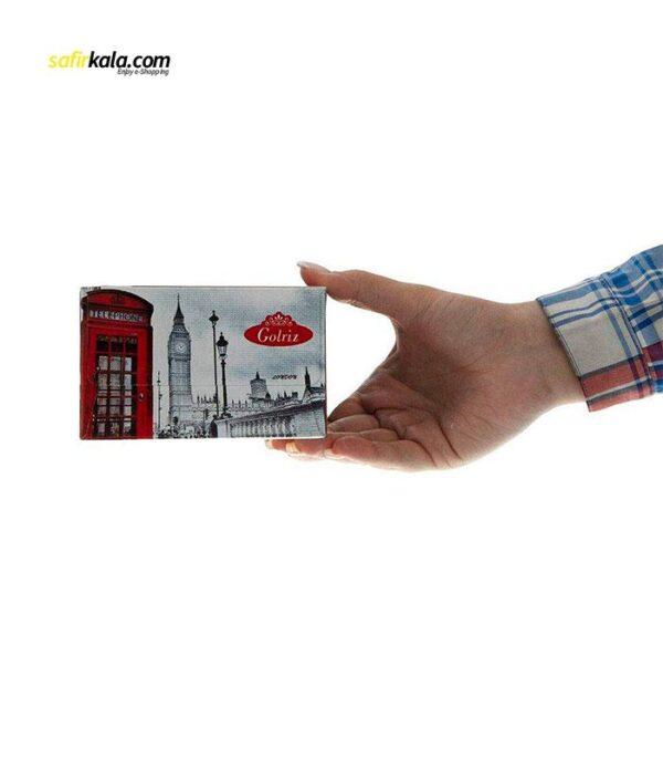 دستمال کاغذی 50 برگ گلریز مدل لندن بسته 24 عددی   فروشگاه اینترنتی سفیر کالا